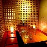 【最大8名様までご案内可能】中団体様向けの個室のお席です。