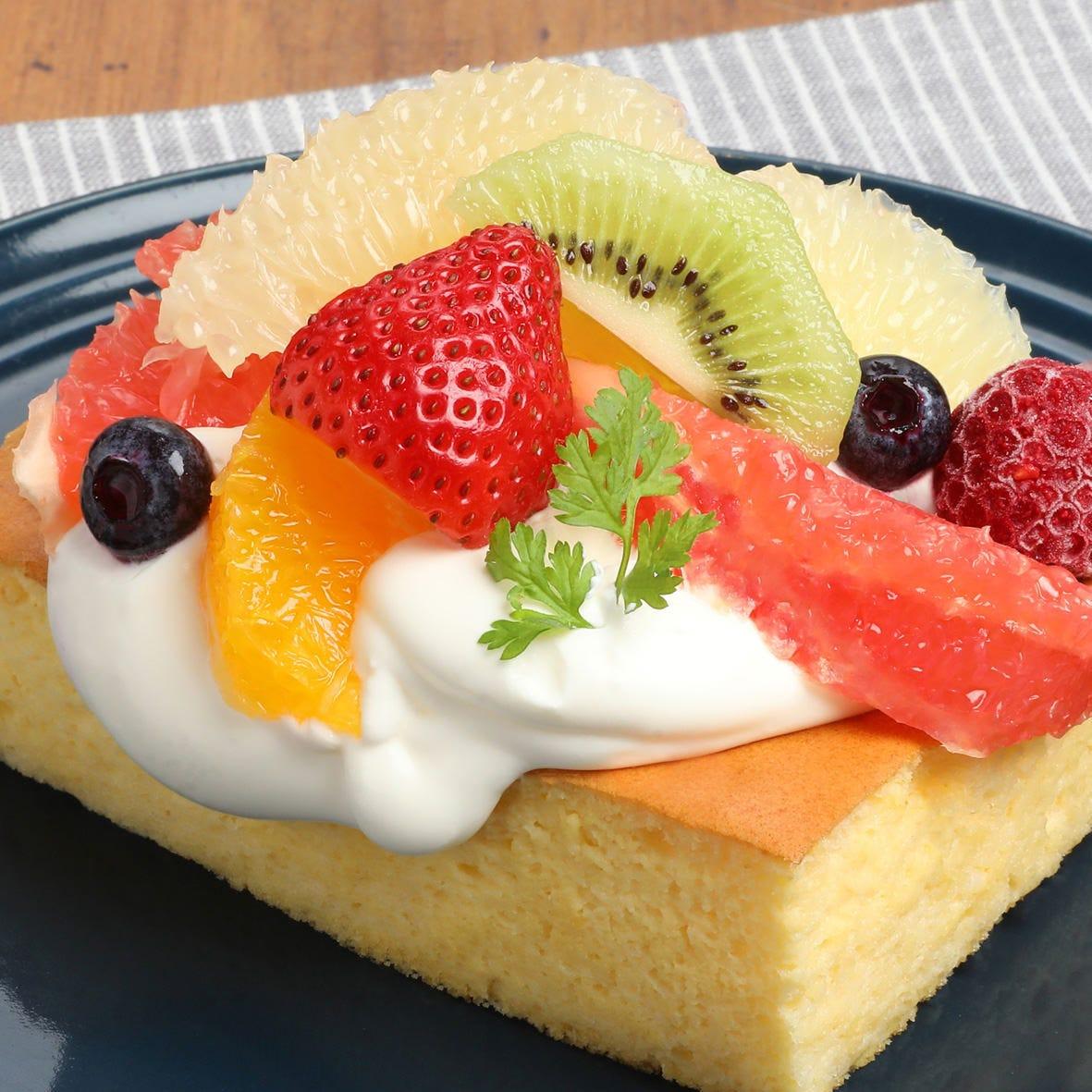 フルーツどら焼きなど、創作感あふれる甘味もご用意☆