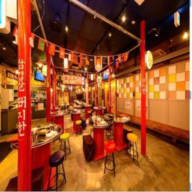 カルビ丼とサムギョプサルの美味しい店 ぶた韓 東海店 店内の画像