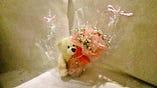 お花屋さんとコラボ♪可愛いアレンジメントをご手配(画像は¥2000税別)
