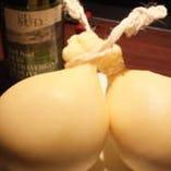 カッチョカッバロ(イタリアチーズ)の鉄板焼