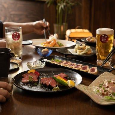 Foods bar 栞屋  コースの画像