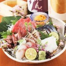 豊洲市場より新鮮な魚介を仕入れ!