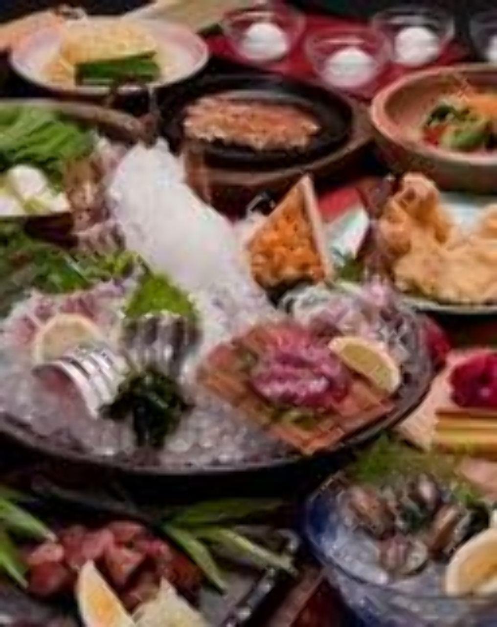 九州食べ歩きコース ぐるなびクーポン利用で飲み放題付 6、500円→ 6,000円