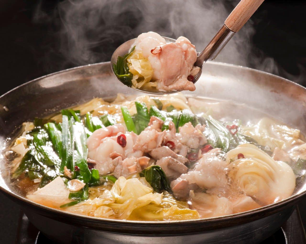あっさりコク旨スープがクセになる 国産牛の小腸のみ使用です!