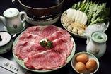 伝統と文化の味絶品のすき焼きコース 5,830円より各種