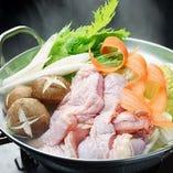 福島県の伊達鶏の旨味を余すことなく白湯鍋で♪【福島県】