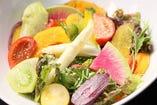 牛達ファームからの、新鮮京都野菜。【京都府】
