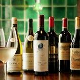 お飲み物も種類豊富のご用意しております。