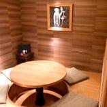 少人数個室の一例です!5名用1部屋、6名用2部屋、8名用4部屋