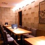 【 タイプA 】半個室 テーブル席 4名席~ 禁煙