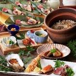 コース料理も本格的な和の料理を提供!個別提供のコース有り。