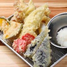 ボリューム満点の天ぷらも納得の値段