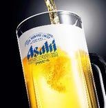 アサヒスーパードライ生ビール(中ジョッキ)