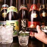 絶品九州料理は本格焼酎と一緒にどうぞ!