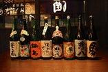 九州の銘酒を多く取り揃えています。接待などにもおすすめです!