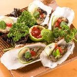 仕入れたばかりの新鮮な魚介類【北海道】
