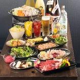 """""""名物""""とり焼と松阪牛のホルモンが堪能できるお店です。"""