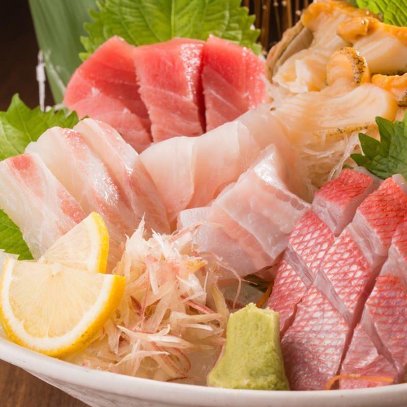 毎日市場より直送!旬の魚介料理