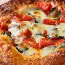 トマトとモッツァレラのパイッツァ