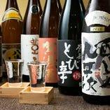 新潟ご当地メニュー!新潟の銘酒がズラリと揃います!