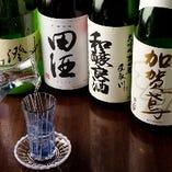 地酒と並び、焼酎の種類も豊富!ボトルのご用意もございます