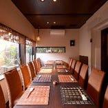 テーブル席「完全個室」(最大14名様)