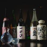 こだわりの日本酒【日本全国から】