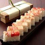 【お土産】たらばがに 押し寿司