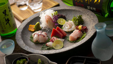 自然薯鍋・地酒と産地直送鮮魚 恒雅 北新地 コースの画像
