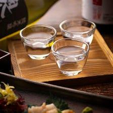 和食を引き立てる全国の地酒を厳選