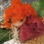 本日鮮魚のカルパッチョ盛合