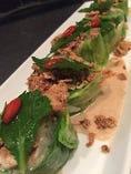薩摩黒豚と高原キャベツの冷しゃぶサラダ