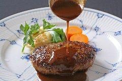 【 ハンバーグステーキ デミグラス セット 】