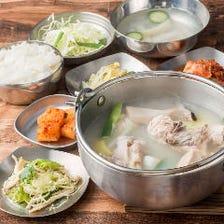 ◆タッカンマリと韓国料理を堪能!