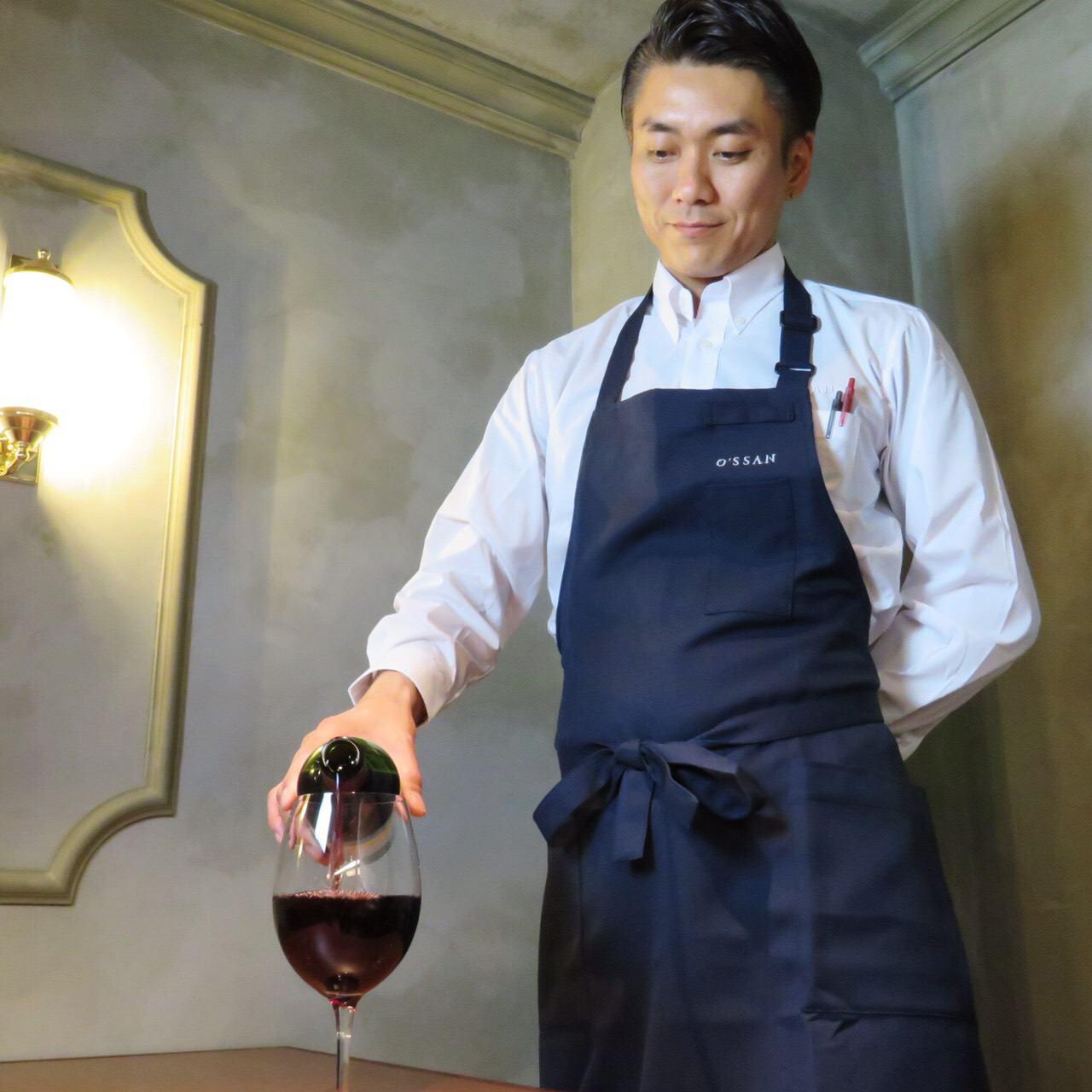 ワイン常時80種類以上