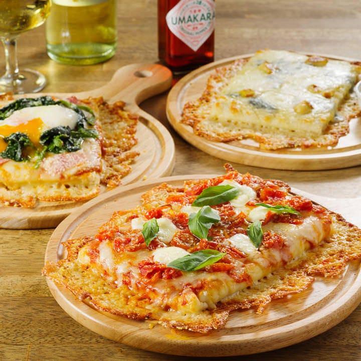 パスタ&ピザの食べ放題コースも!
