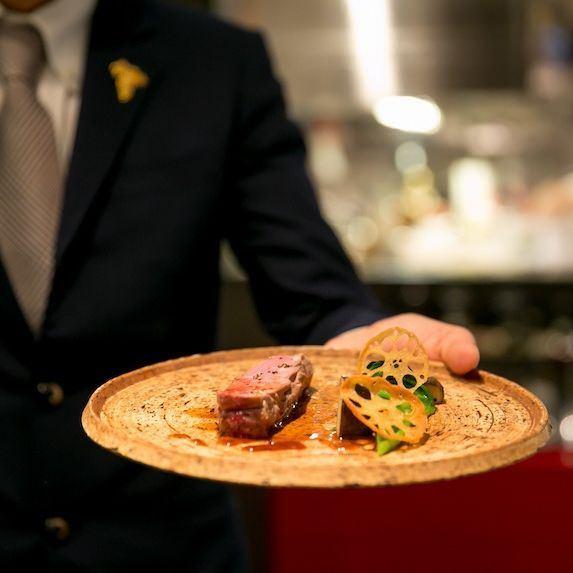 【DINNER】全8皿「DEGUSTAZIONE」 11,000円