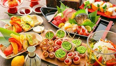 全席個室 野菜巻き串と焼き鳥 巻きんしゃい 福島店 コースの画像