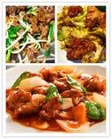 豚肉キャベツ辛味噌炒め/スブタ/牛肉とモヤシニラ炒め