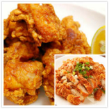 鶏の唐揚げ/湯淋鶏