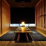 【和の個室】 2~24名様まで人数に応じた完全個室をご案内可能