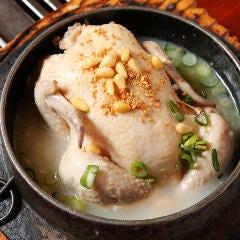 【大吉名物】<自家製>参鶏湯(サムゲタン)