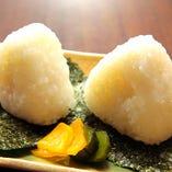 藻塩米(もしおまい)の塩むすび【島根県 隠岐の島】
