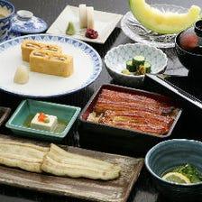 伝統の鰻をトータルに味わうコース