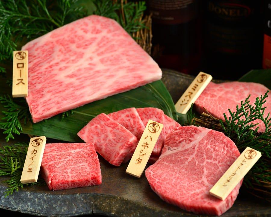 極上スペシャル!飛騨牛「最とび」盛合せ!至福の食べ比べをどうぞ