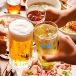 ◆楽しく焼肉宴会錦糸町の忘年会に!コースは2H飲放付4000円~