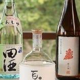 季節ごとにおすすめしたい日本酒を全国各地より取り揃えています