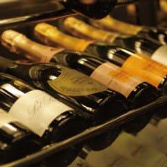 ワインの品揃えが豊富