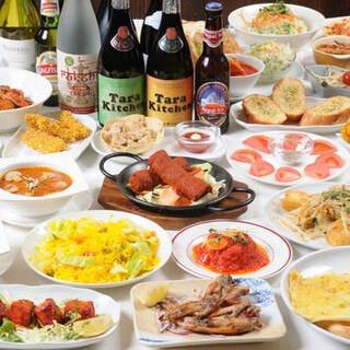 インド料理居酒屋 タラキッチン 北浜店  コースの画像